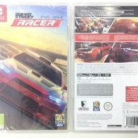 Switch Super Street Racer Europe Version