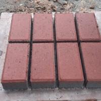 Jual Paving block \/ conblock warna merah - Kab. Tangerang - G-JM paving block  Tokopedia