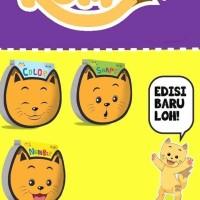 Buku belajar anak seri kumi color/number/boardbook