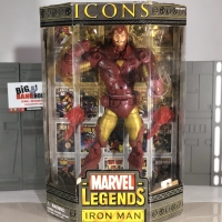MARVEL LEGENDS ICONS IRONMAN GOLD ARMOR VARIANT