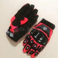 Glove Sarung Tangan Scoyco MX14 Merah Red Original