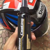 Semi Coating Sealant Helm Mobil Motor Isi 100ml Efek Daun Talas