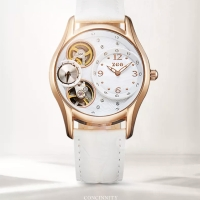 Jam Tangan Wanita Casual Fashion Automatic ZGO Gold White