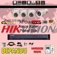 Paket CCTV Hikvision 4 Outdoor