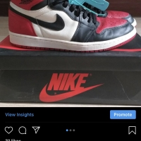 Nike Air Jordan 1 Bred Toe OG
