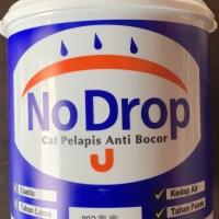 """Cat pelapis bocor no drop tersedia warna abu"""" , hitam"""