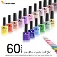 Venalisa 60 colours nail gel polish kutek gel khusus po