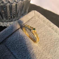 DearMe - QUINCY Ring (925 Sterling Silver with 14k Gold Plated)