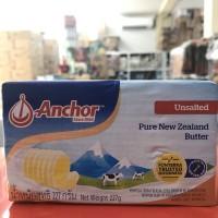 Anchor unsalted butter 227g
