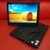 Laptop Murah Lenovo X200T Tablet Core2Duo - 4GB - 250GB - Win 7 64Bit