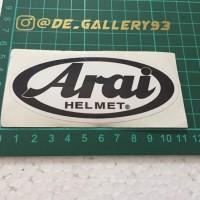 Sticker stiker logo arai