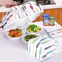 Tudung Saji Lipat penjaga Suhu Makanan Besar / Food Cover