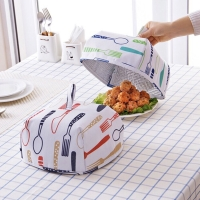 Tudung Saji Lipat Penjaga Suhu Makanan Kecil / Food Cover