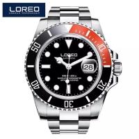 Jam Tangan Automatic Homage Rolex Submariner Cola Loreo Original Diver