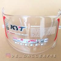 Flat Visor Kyt R10 Rc7 K2r Clear Bening