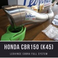 Leo Vince CBR150 K45 Cobra FS Exhaust