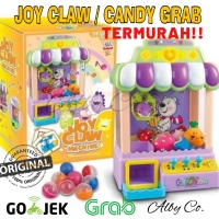 MAINAN ANAK joy claw candy grabber grab mesin capit boneka grib doll