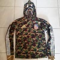 82e763a9 Adidas x Bape a bathing ape shark hoodie size L very limited edition