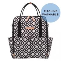 Petunia intermix backpack - maze of milano black