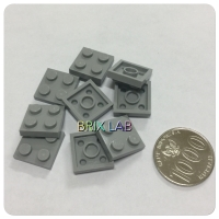 LEGO PART 3022 - Light Bluish Gray Plate 2 x 2 - isi 20