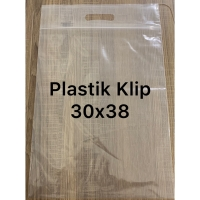 Plastik ziplock 30x38 plastik klip transparan 30x38