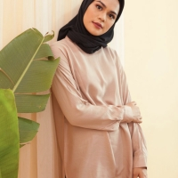 Baju Blouse Lengan Panjang Hijab