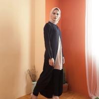 Baju Muslim Lengan Panjang Tunik