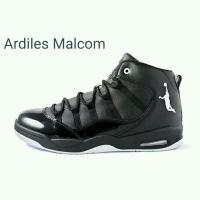 Sepatu Sport basket ardiles Malcom Hitam merah & Putih hitam