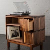 Meja Audio kayu