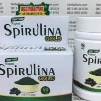 Kapsul Spirulina (isi 60kaps) - Untuk Daya Tahan Tubuh