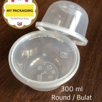 Thinwall 300 ml BULAT ROUND - 25buah