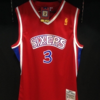 Jersey Basket(grade ori)PHILA 76ERS HARDWOOD CLASSICS #3ALLEN IVERSON