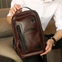 TAS SELEMPANG kulit sling bag tas pria tas kulit pria import premium 5