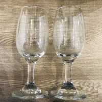 White ex whisky glass 150ml / whisky glass / gelas kaca / gelas anggur