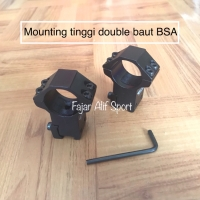 Mounting tinggi Double baut / Monting tele / Monting teleskope / Tele