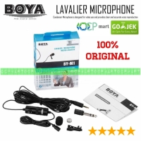Boya BY-M1 Lavalier Microphone mic smartphone kamera Slr mirrorless