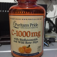 PURITAN VITAMIN C BIOFLAVONOIDS WITH ROSE HIPS 250TAB TIME RELEASE