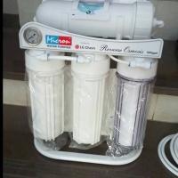 RO 500 GPD Reverse Osmosis Filter Air minum + Pressure Gauge / PG