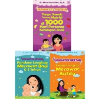 Paket Terlaris Buku Mommyclopedia by Dr Meta Hanindita SpA