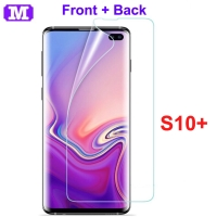 Samsung S10+ S10 Plus - MAXFEEL Hydrogel FULL SET ( Not Tempered )