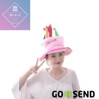 Topi Ulang Tahun Happy Birthday Hat Topi Ultah