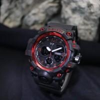 JAM TANGAN G SHOCK GPW 1000 NEW RUBBER DOUBLE TIME WATCH