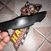 Brand new 100% Nose guard cover hidung helm shoei X14 original Japan