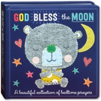 God Bless The Moon Board Book(collection of bedtime prayer for baby)