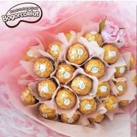Buket Coklat Valentine 2019