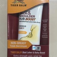 TIGER BALM NECK & SHOULDER RUB BOOST / Balsam / Balsem Leher & Bahu