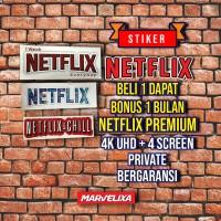 Sticker Netflix Bonus Netflix Premium