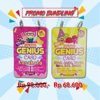PAKET PROMO GENIUS CARD (flash card) isi 2 seri