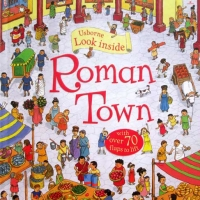 Look Inside Roman Towns(with over 70 flaps to lift)