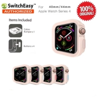 SwitchEasy Color Matching Case Apple Watch 4 44mm Original - Pink